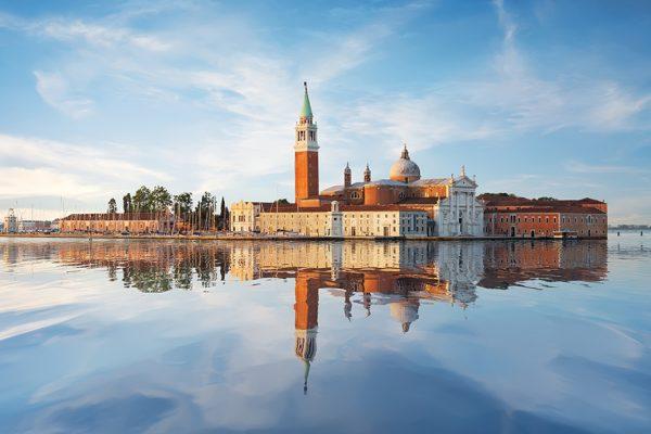 Morning on San Giorgio Maggiore in Venice
