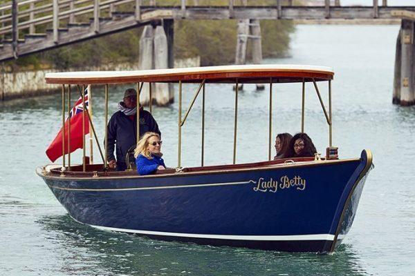Lady Betty - Hybrid Engine Boat Venice