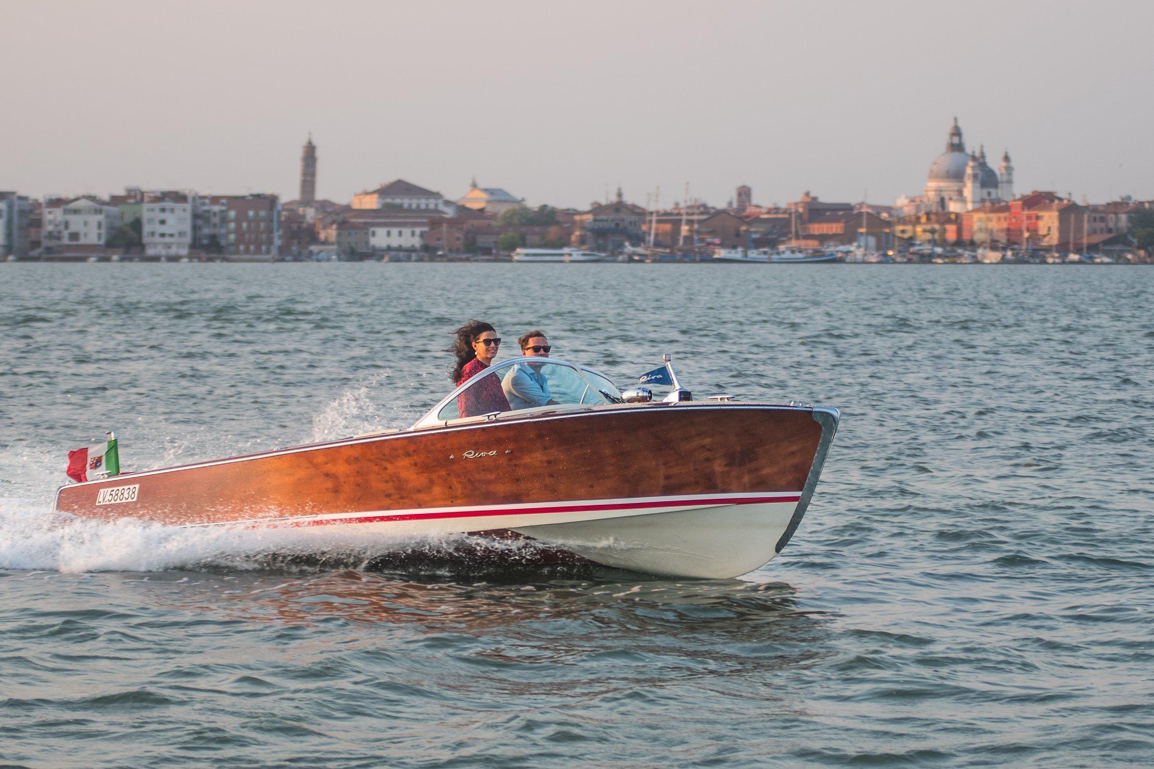 Riva Boat Venice Italy